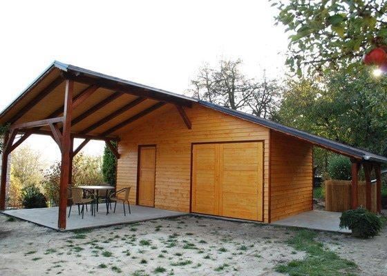 Zahradní domek + pergola