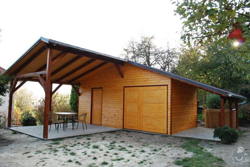 Zahradní domek + pergola: kleizol_25