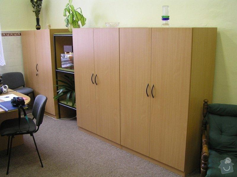 Kancelářský nábytek: skrine