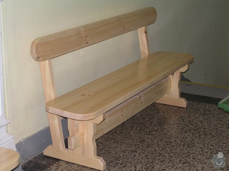 Dřevěné lavice: lavice2