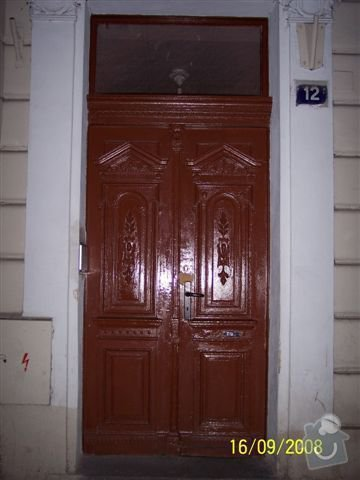 Restaurování vstupních dveří: restaurovani-vstupnich-dveri_pohled_z_venku