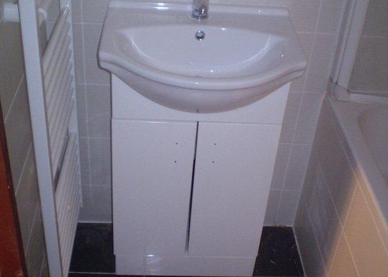 Rekonstrukce koupelny Klášterec nad Ohří