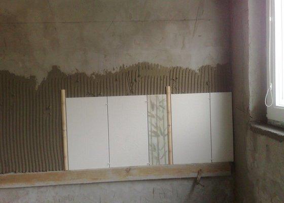 Rekonstrukce bytového jádra a v létě fasáda