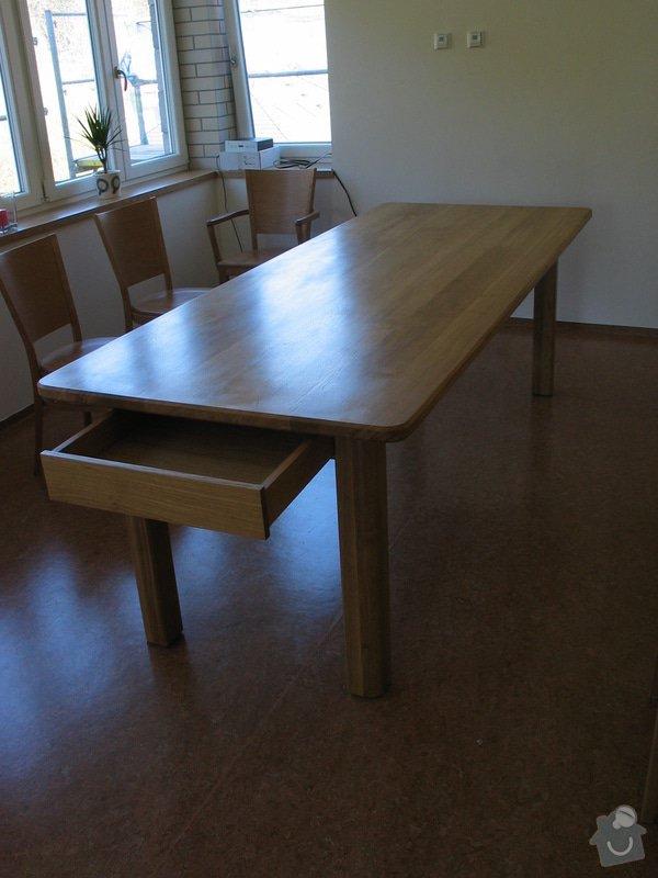 Jídelní stůl z masivního dubu: 101_0129_r1