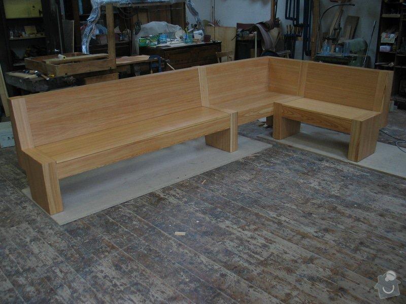 Jídelní stůl  a lavice: 101_0126