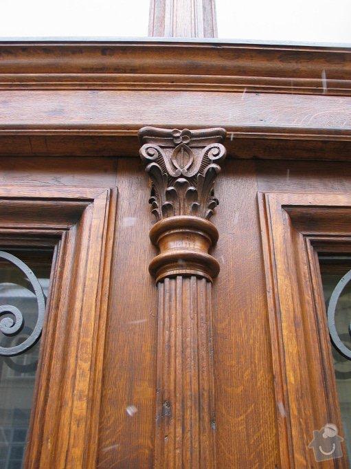 Restaurování dveří činžovního domu: 100_0008
