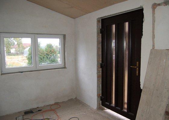 Výměna oken a dveří