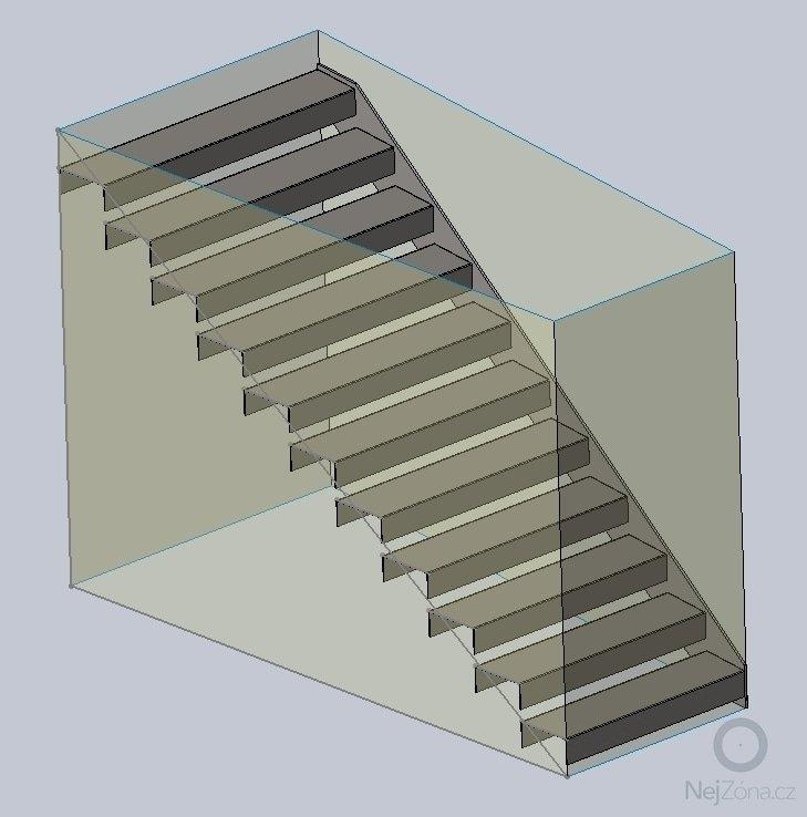 Interierove schody - kovova konstrukce: obr1