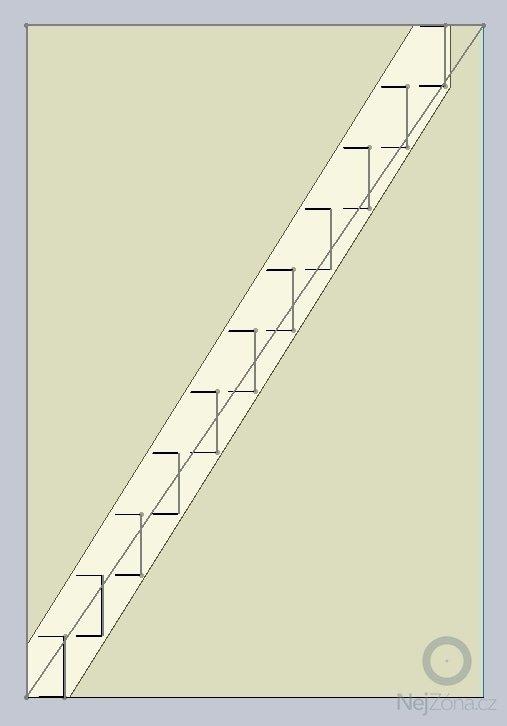 Interierove schody - kovova konstrukce: obr2