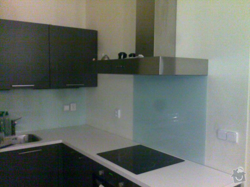 Skleněné obložení kuchyně: AlfaGlass