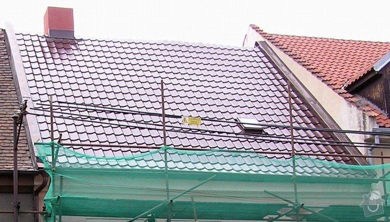 Rekonstrukce střechy a klempířské práce s tím spojené: nej_strecha.xls