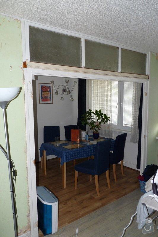 Rekonstrukce obývacího pokoje v panelovém bytě: P1030115