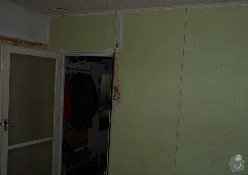 Rekonstrukce obývacího pokoje v panelovém bytě: P1030119
