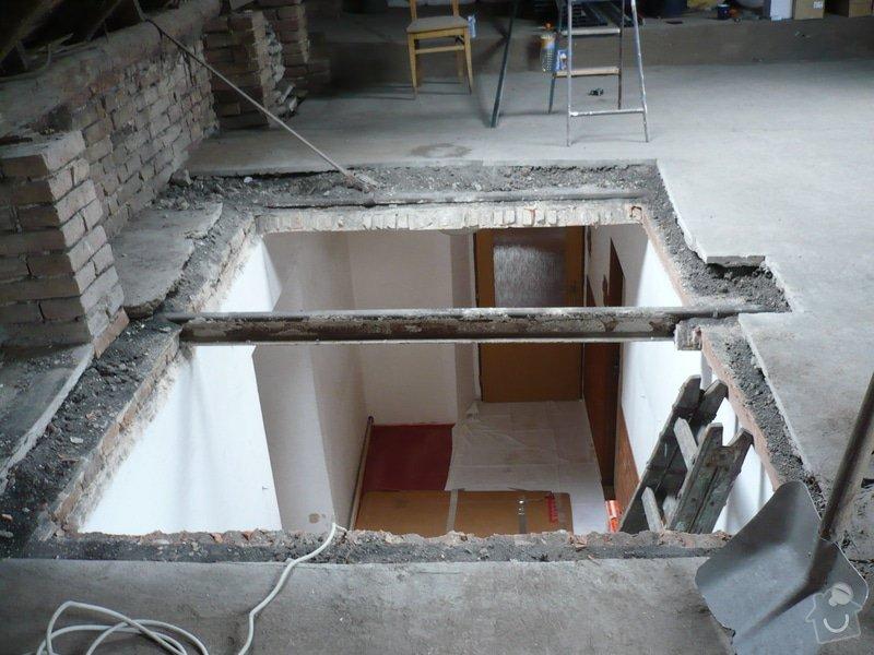 Zateplení a montáž sádrokartonu v podkroví.: P1040213