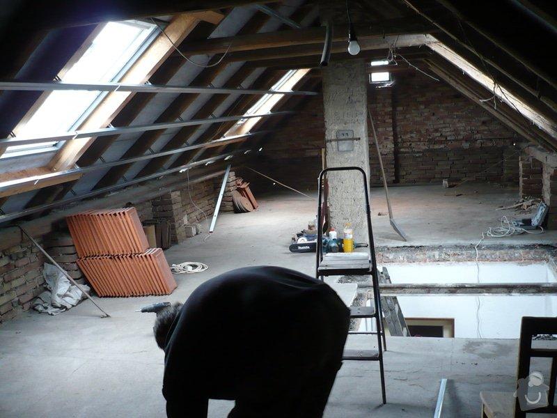 Zateplení a montáž sádrokartonu v podkroví.: P1040219
