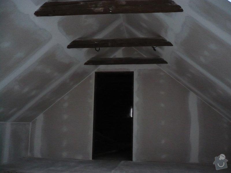 Zateplení a montáž sádrokartonu v podkroví.: P1040232