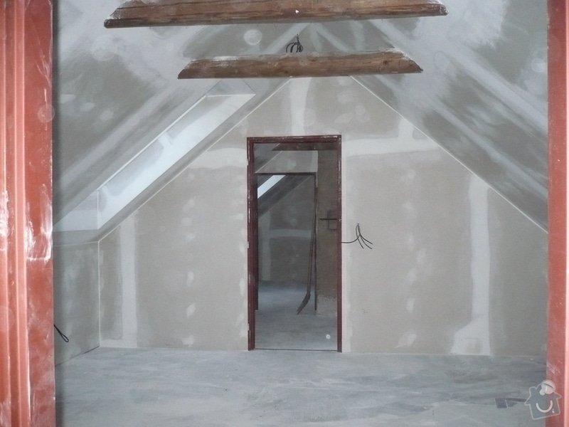 Zateplení a montáž sádrokartonu v podkroví.: P1040236