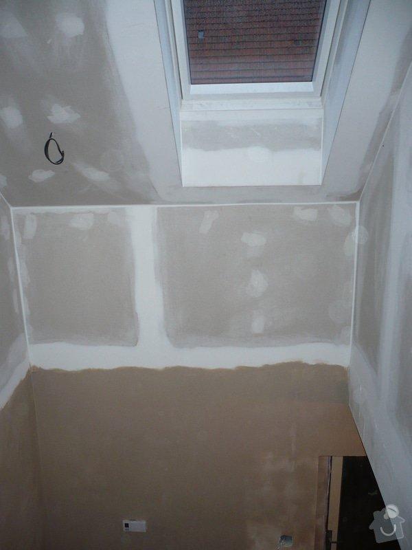 Zateplení a montáž sádrokartonu v podkroví.: P1040237