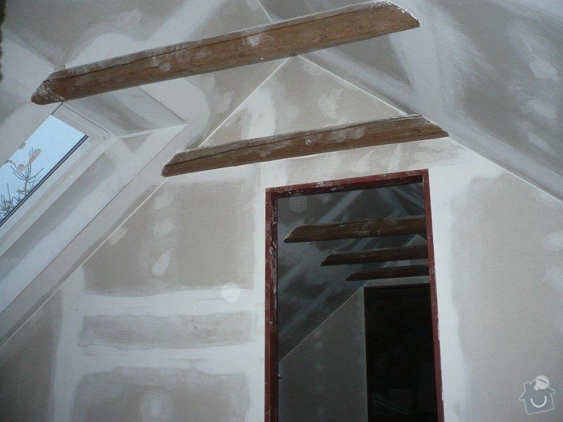 Zateplení a montáž sádrokartonu v podkroví.: P1040242