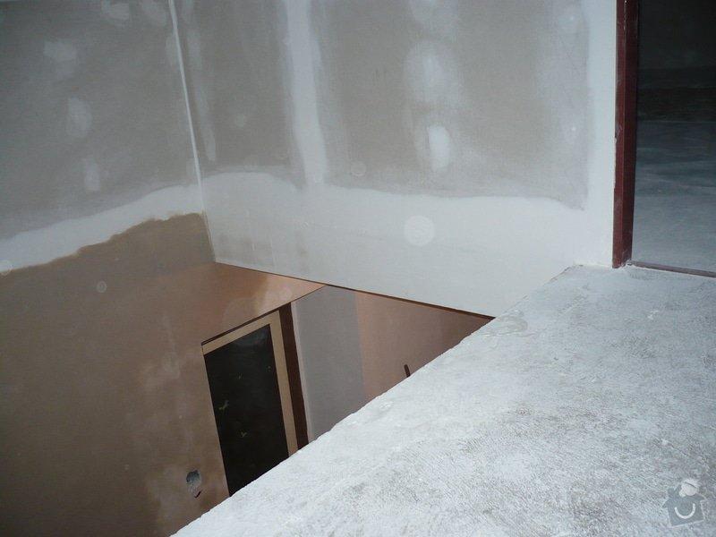 Zateplení a montáž sádrokartonu v podkroví.: P1040243