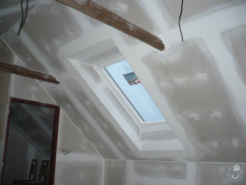 Zateplení a montáž sádrokartonu v podkroví.: P1040246