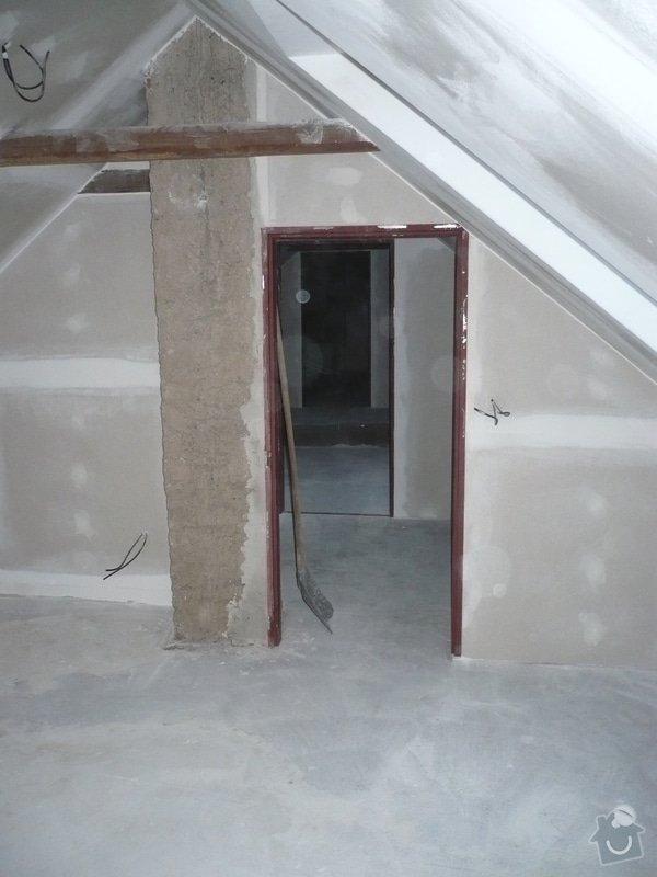 Zateplení a montáž sádrokartonu v podkroví.: P1040247