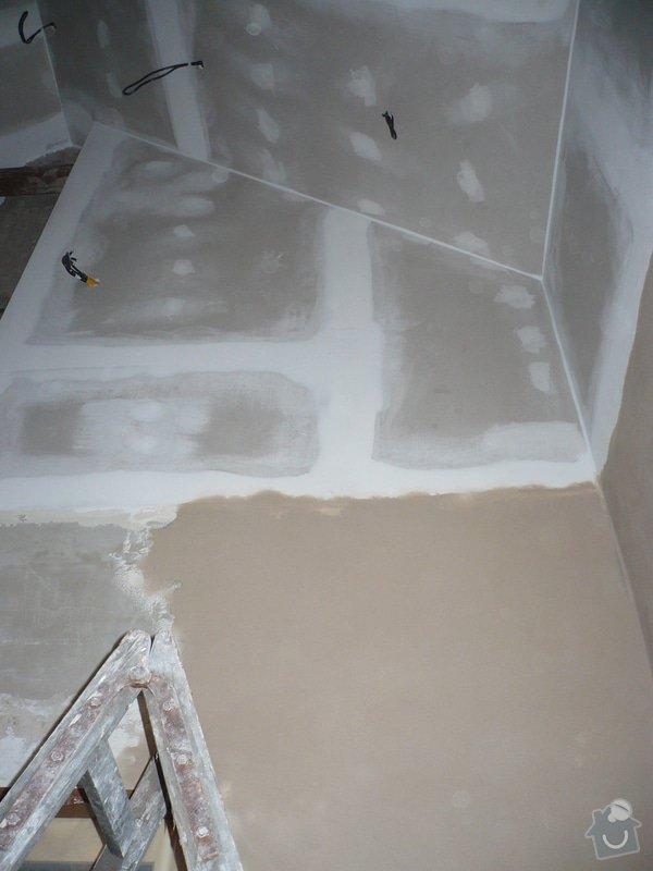 Zateplení a montáž sádrokartonu v podkroví.: P1040251