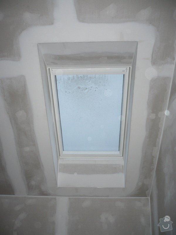Zateplení a montáž sádrokartonu v podkroví.: P1040234