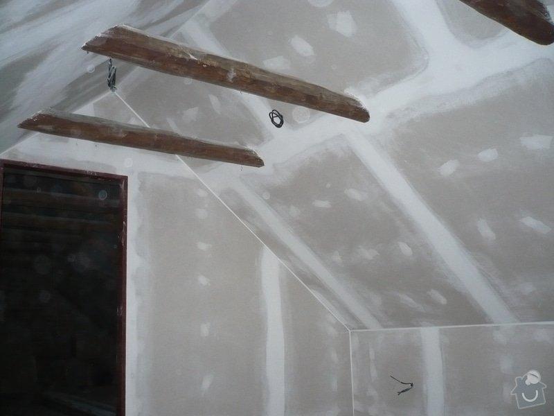Zateplení a montáž sádrokartonu v podkroví.: P1040235