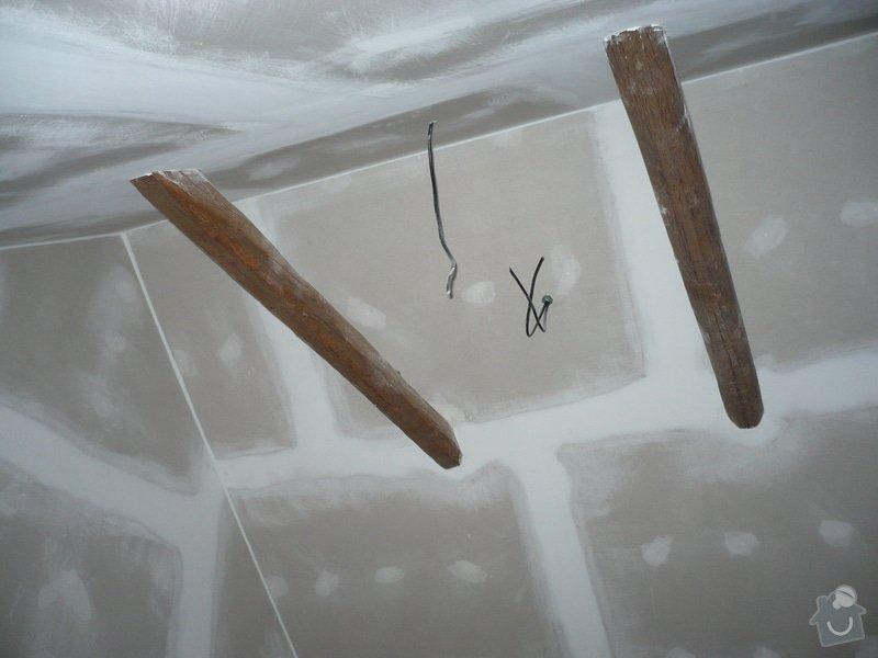 Zateplení a montáž sádrokartonu v podkroví.: P1040248