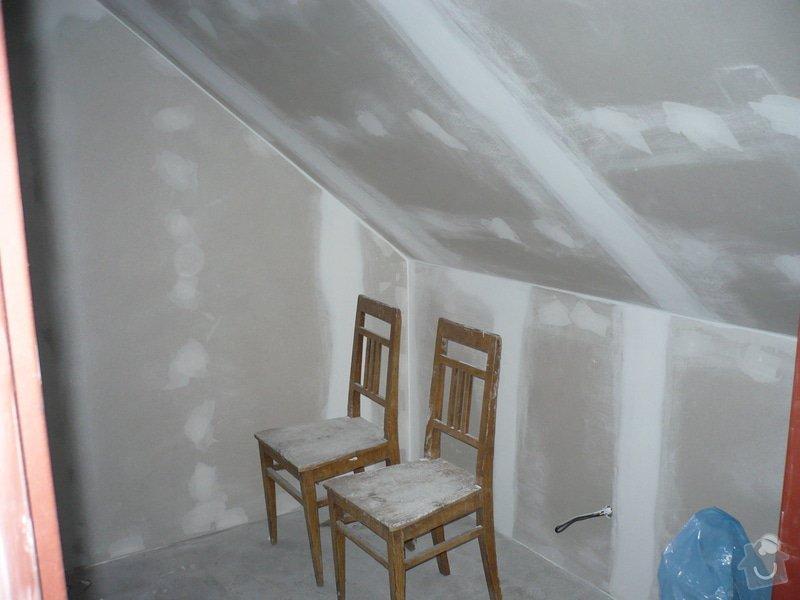 Zateplení a montáž sádrokartonu v podkroví.: P1040249
