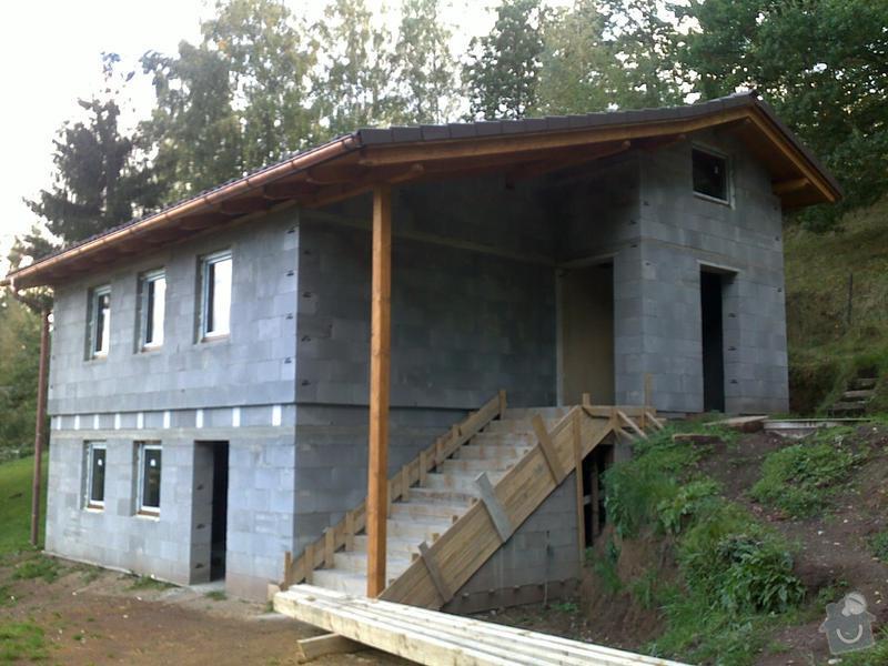 Rekonstrukce chaty, tesařské, pokrývačské a klempířské práce na Náchodsku: porekonstrukci