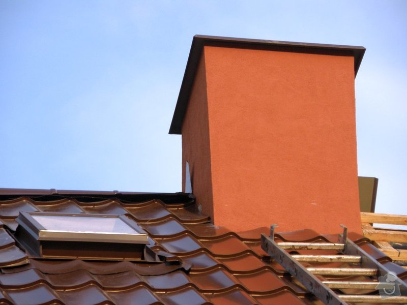 Rekonstrukce střechy a klempířské práce s tím spojené: 4765