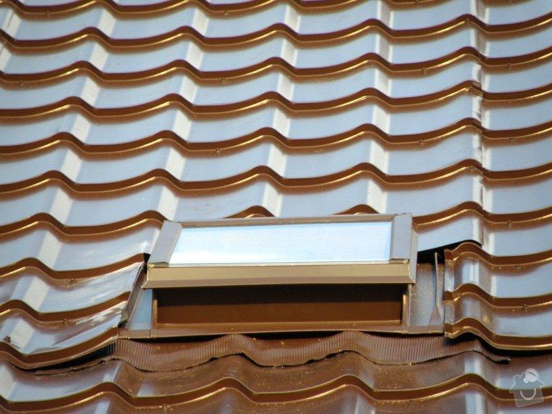Rekonstrukce střechy a klempířské práce s tím spojené: 4764