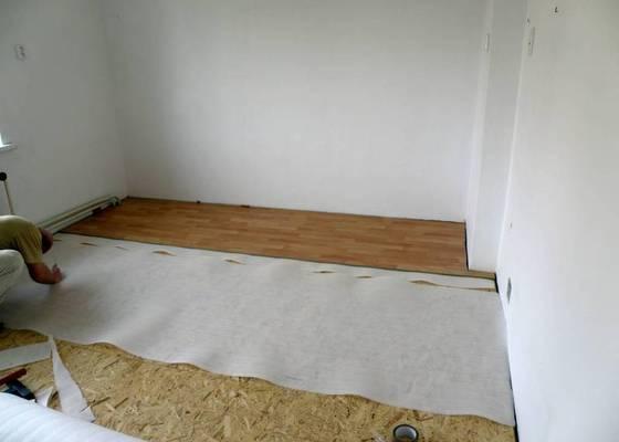 Položení plovoucí podlahy
