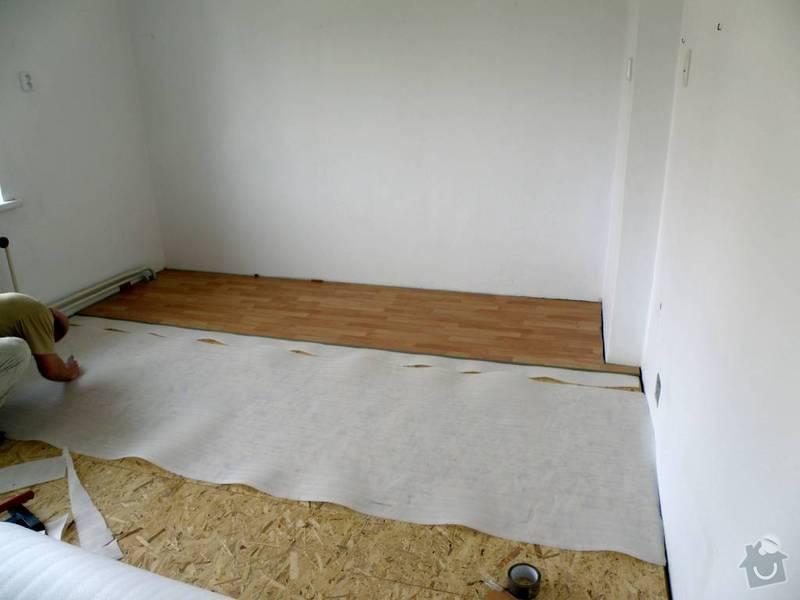 Položení plovoucí podlahy: 3696