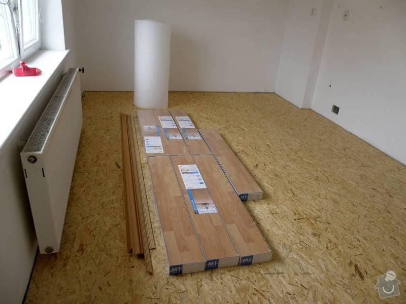 Položení plovoucí podlahy: 3695