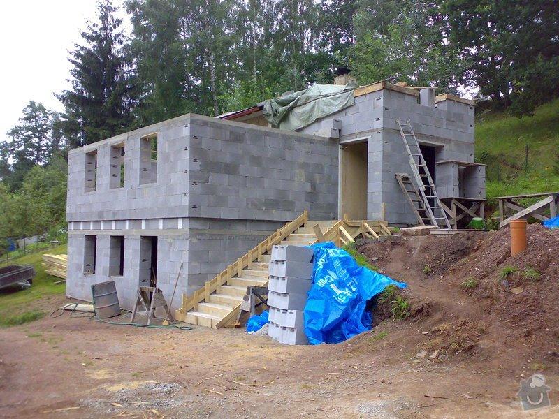 Rekonstrukce chaty, tesařské, pokrývačské a klempířské práce na Náchodsku: predzhotovenim_strechy