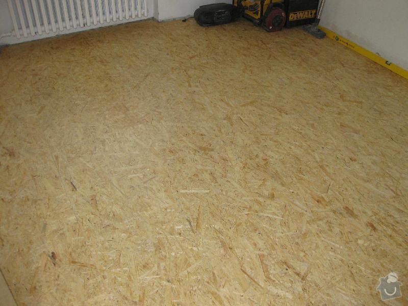 Pokládka laminátové plovoucí podlahy: 3