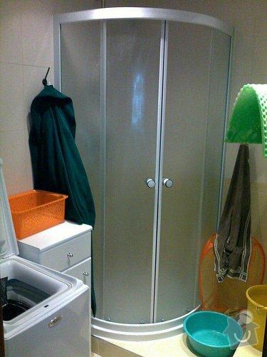 Rekonstrukce koupelny: c