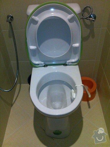 Rekonstrukce koupelny: d
