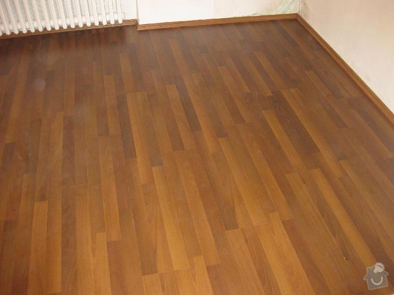 Pokládka laminátové plovoucí podlahy: 4
