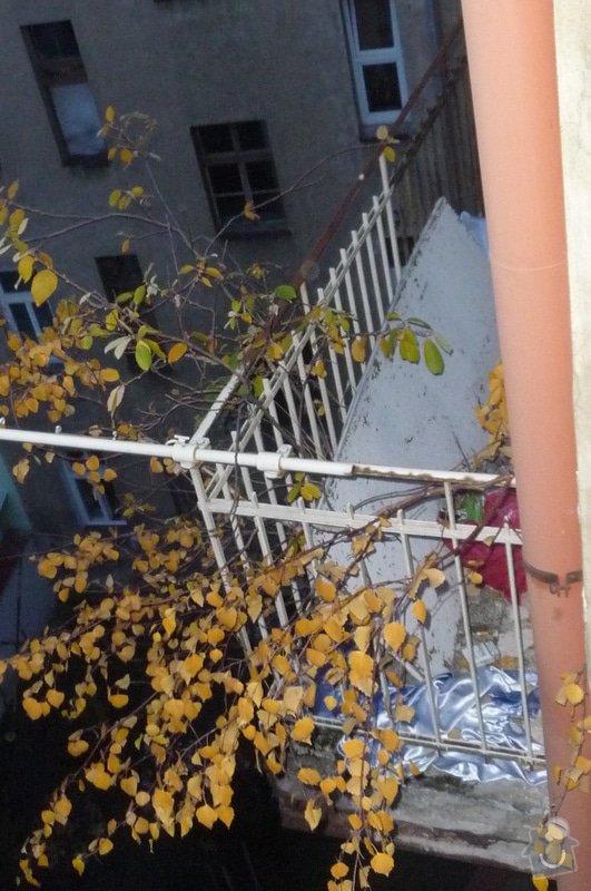 Opravu balkonu 4.p: P2240013