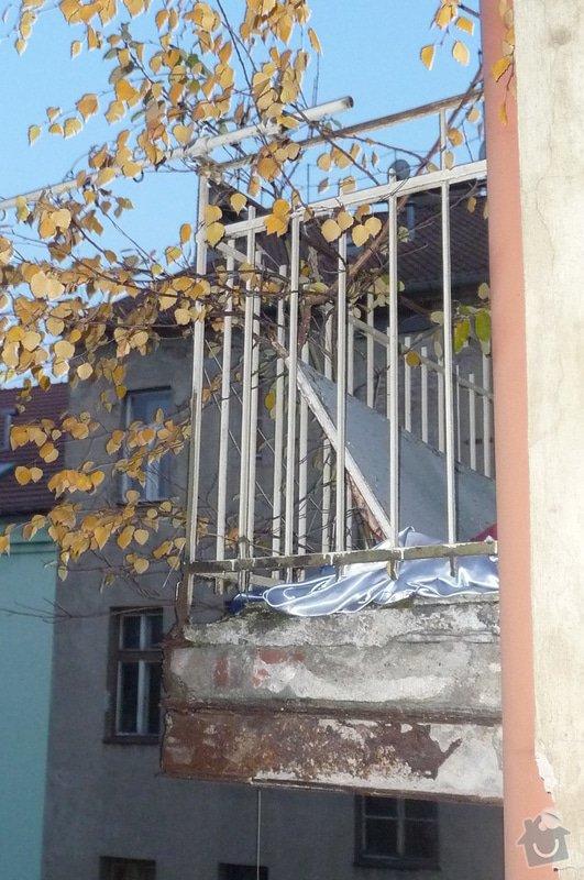 Opravu balkonu 4.p: P2240011
