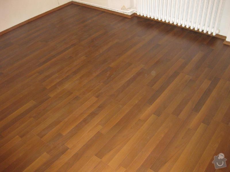 Pokládka laminátové plovoucí podlahy: 5