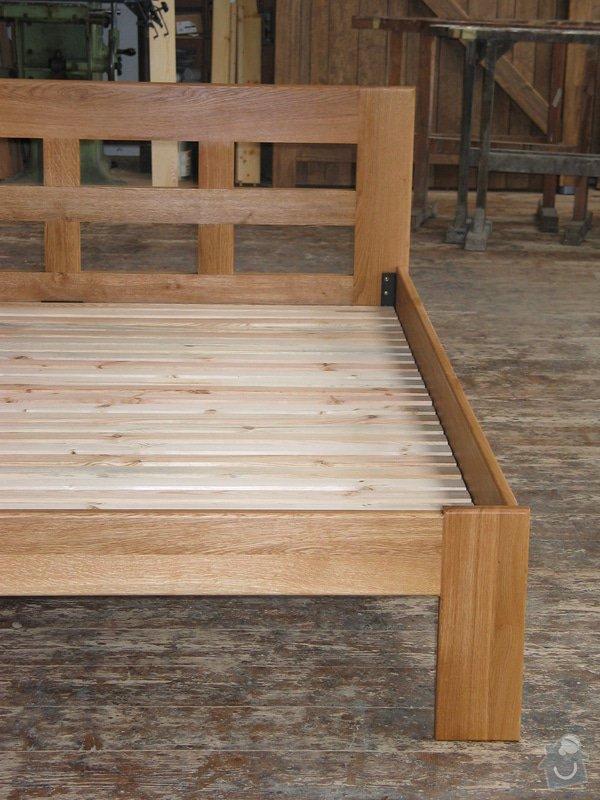Manželská postel z masivního dřeva: 100_0066_r1