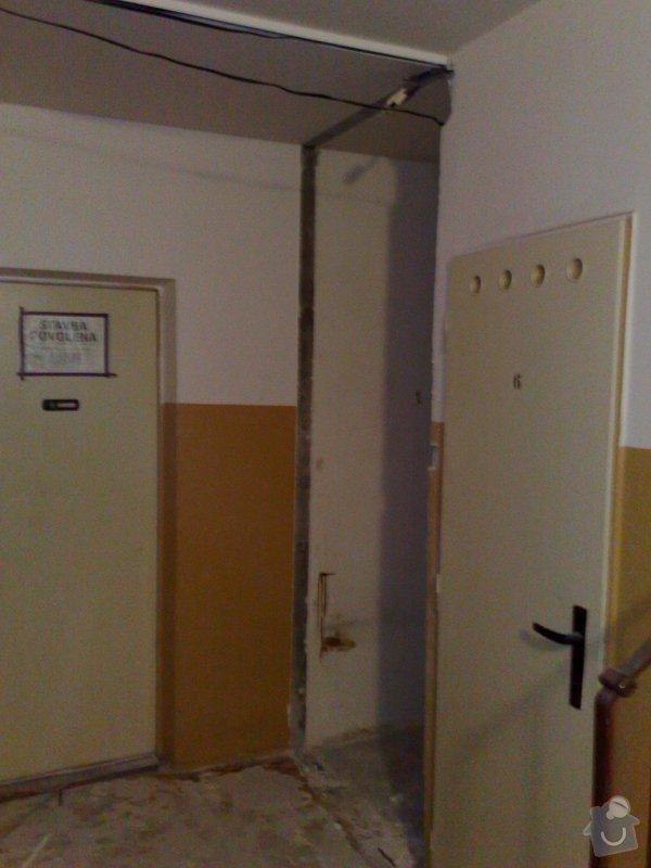 Rekonstrukce panelového bytu vč.soc.zař.: 011020092687