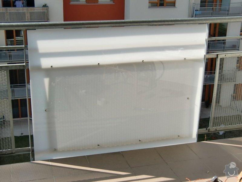 Zábrany na balkón: prvni_zkusebni_deska