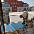 Zabrany na balkon rozmereni a vrtani