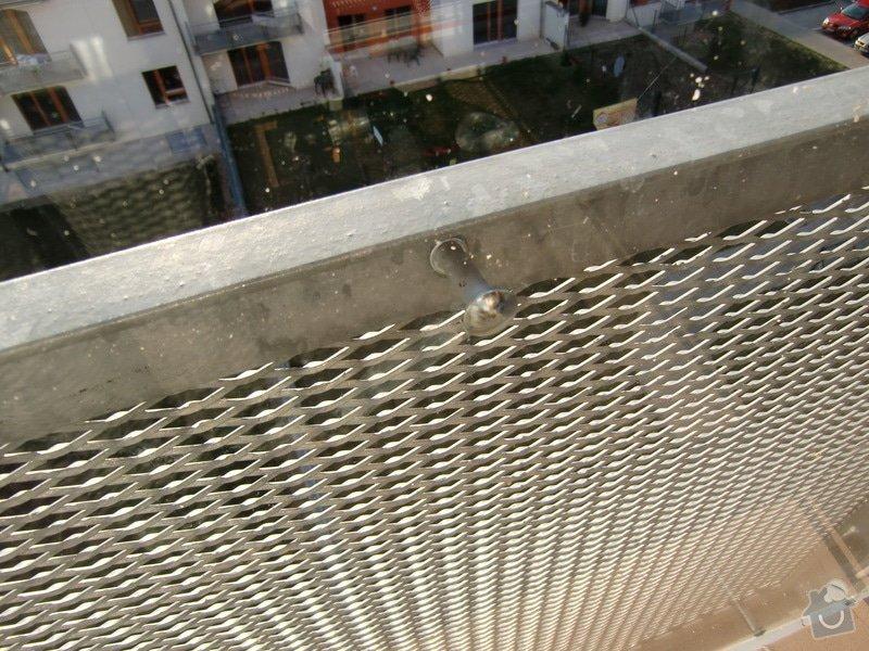 Zábrany na balkón: detail2